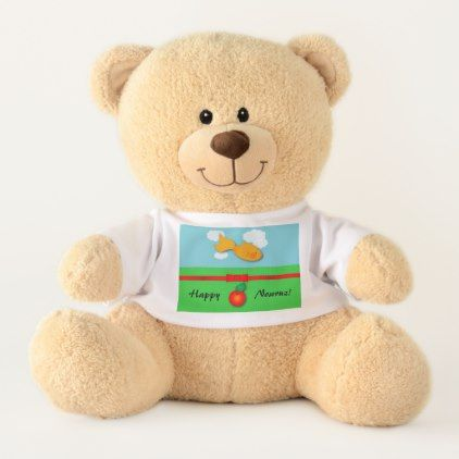 Nowruz Personalized Teddy Bear - personalize gift idea diy or cyo