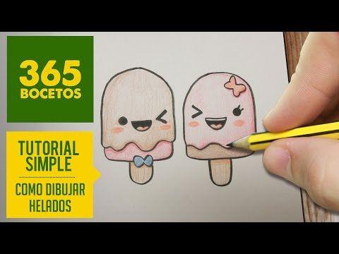 COMO DIBUJAR UNA PIZZA KAWAII PASO A PASO - Dibujos kawaii faciles - How to draw a pizza - YouTube