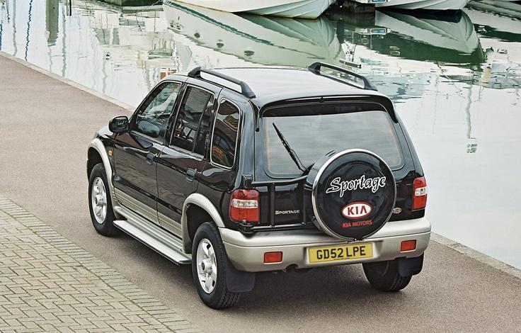 Kia Sportage 2002, my car!