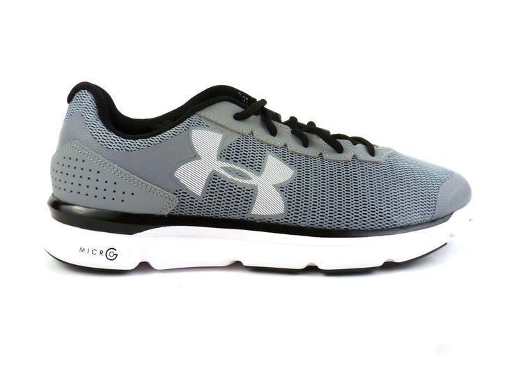 Under Armour men's Micro G Speed Swift running sneakers shoes size 11.5  Steel