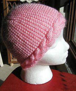 Knitting Stitch By Judy : Braidcap100a_small2 CHEMO HATS Pinterest Yarns