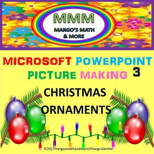 Do you want your kids to be more computer savvy? Here'a a narrated video that shows how to make 3 different stylized Christmas ornaments with the powerpoint program. As the students learn how to use powerpoint to make holiday graphics, they will become more proficient with using the program to create other