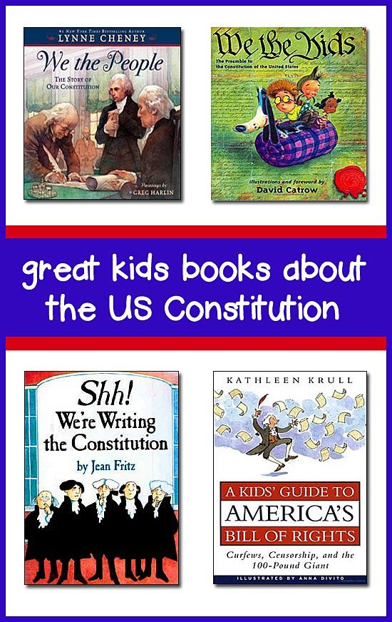 This page lists the best books about the Constitution for kids -- great for…