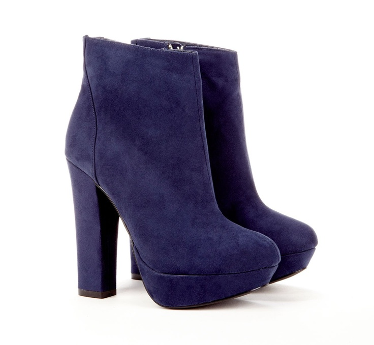 : Boots Galas, Blue Suede Shoes, Platform Ankle Boots, Navy Blue Lov, Clothing, Blue Shoes, Sole Society, Society Josslyn, High Heels Shoes