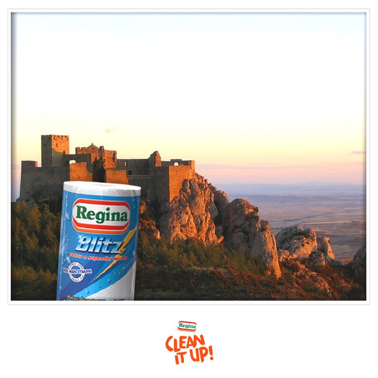 Il castello di Loarre è un labirinto di torri e grandi saloni, un'impresa all'altezza del nostro Blitz!