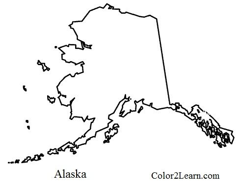 alaska coloring book pages - photo#6