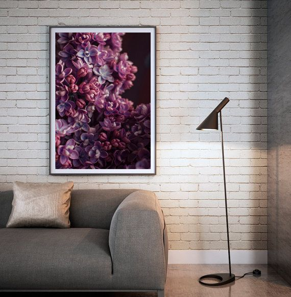 Nature print lilac flower photography prints by BonVoyageStudio