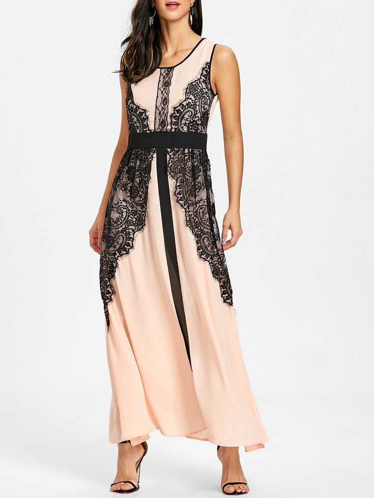 SHARE & Get it FREE | Lace Insert Party Maxi DressFor Fashion Lovers only:80,000+ Items • New Arrivals Daily • Affordable Casual to Chic for Every Occasion Join Sammydress: Get YOUR $50 NOW!