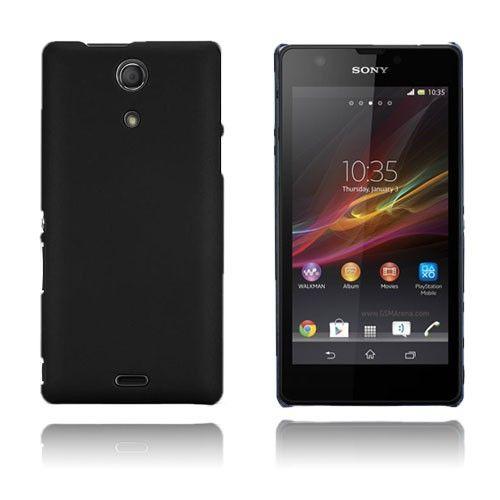 Smooth (Musta) Sony Xperia ZR Suojakuori