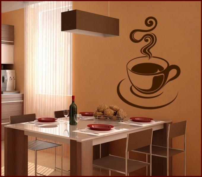 Popular Wandtattoo Kaffee Tasse