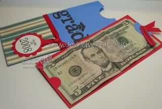 Money Holder card
