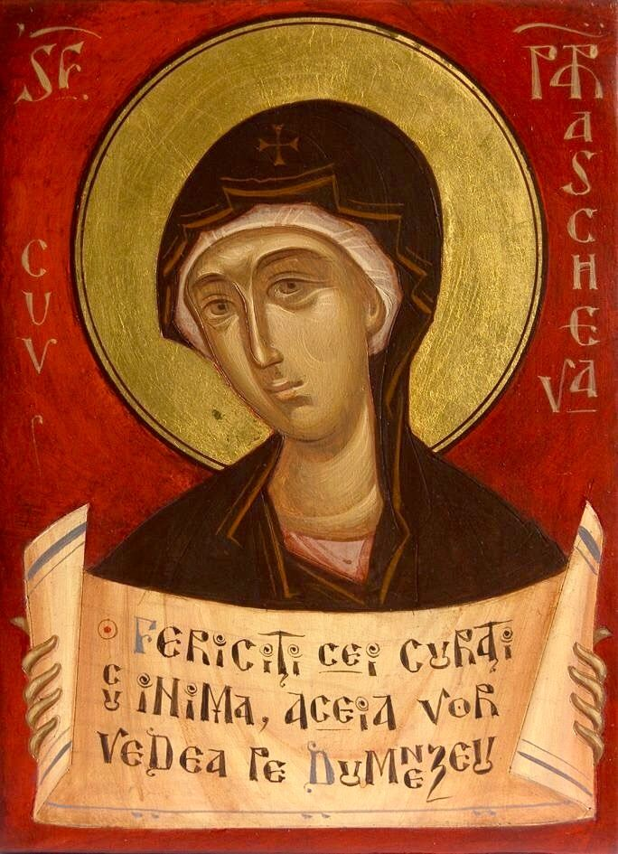 St. Petka; St. Parascheva by Gabriel Toma Chituc