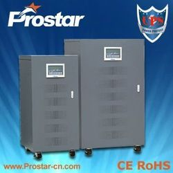 Online industrial UPS power supply  IGBT inverter technology  Powerful overload ability  Pure sine  3 phase in 3 phase out
