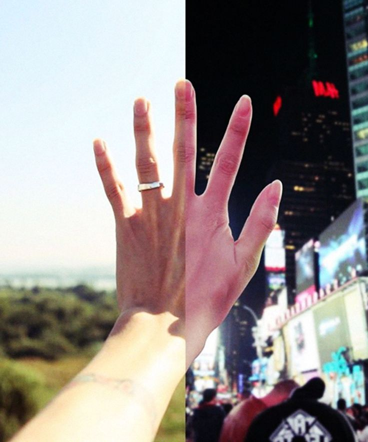 Long-distance couple creates striking, powerful joint Instagram account