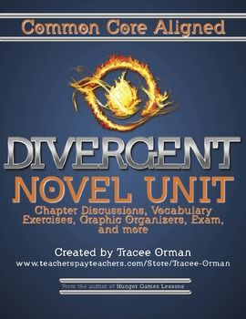 Divergent Novel Common Core Aligned Unit (Finally!)