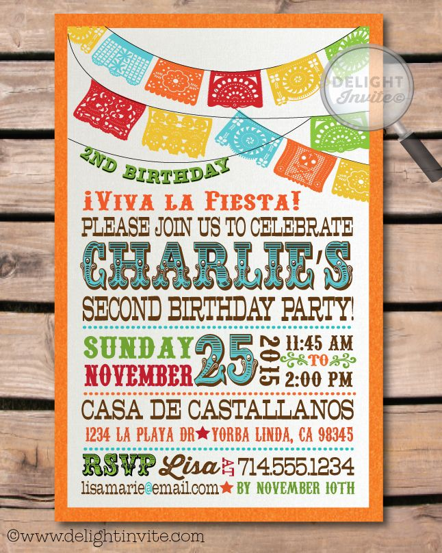 24 best mexican design images on pinterest | mexicans, mexican, Birthday invitations