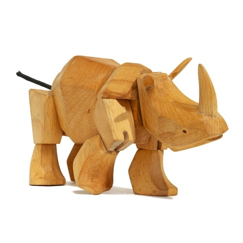 Simus the Rhino, @Areaware. Design by David Weeks.