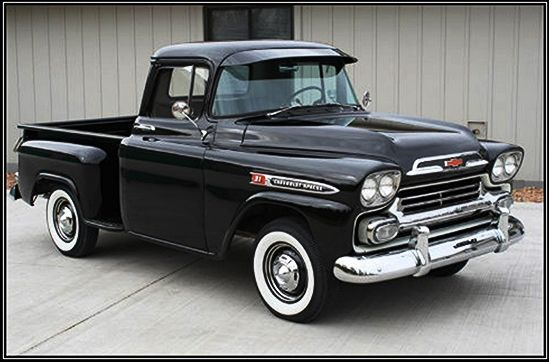 Chevrolet Apache Pickup - 1959