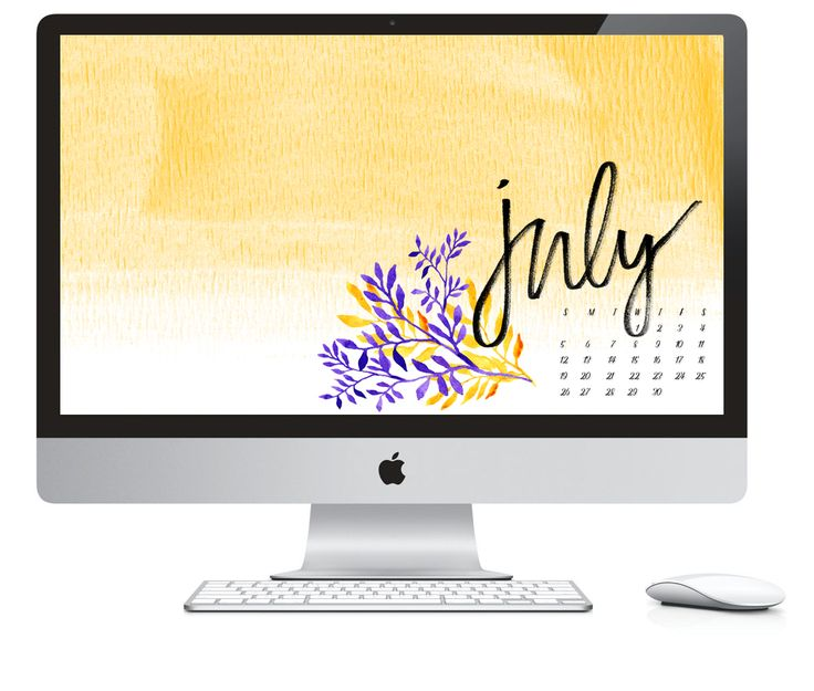 Calendar Design Mac : July by daughter zion designs calendar wallpaper