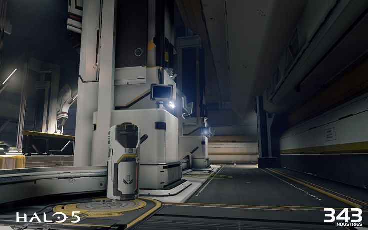 Halo 5 Guardians Warzone Fortress by Benjamin Nicholas on ArtStation.