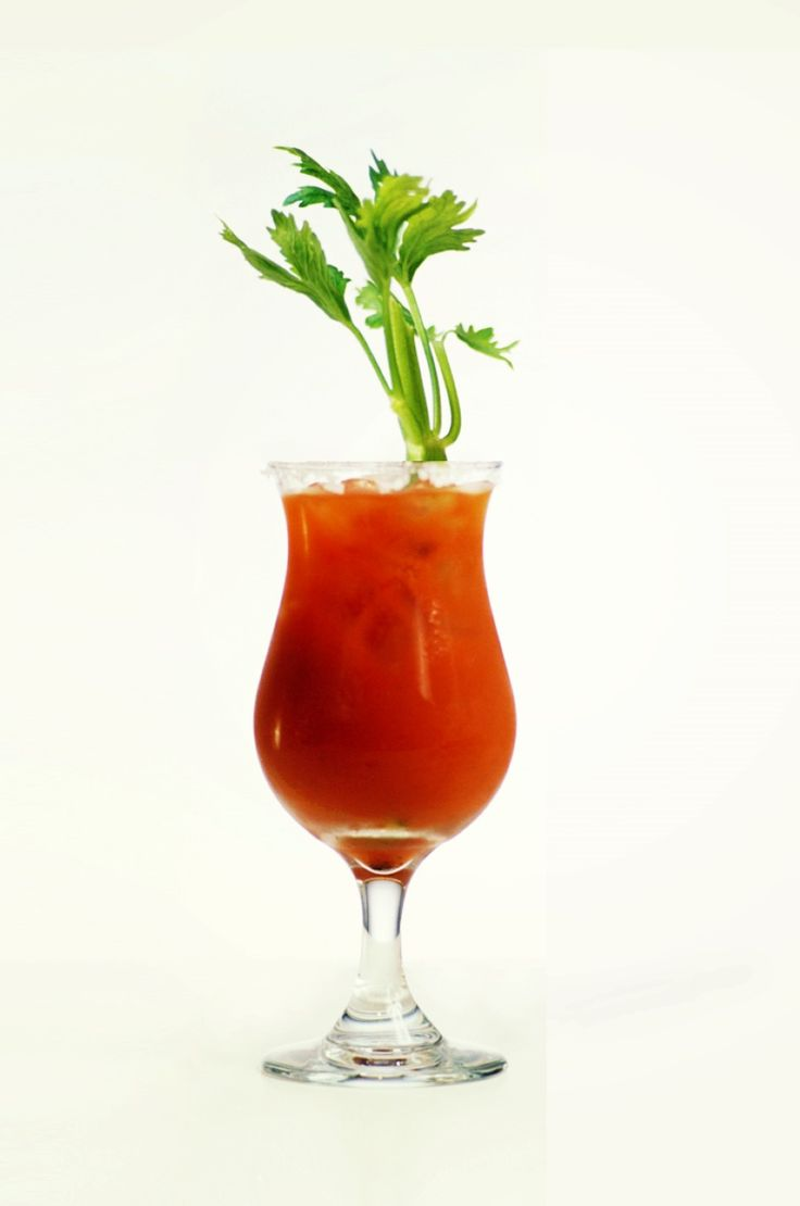 Bloody Mary Cocktail Recipe - Refreshing tomato juice with a spicy kick  www.cocktail-db.com