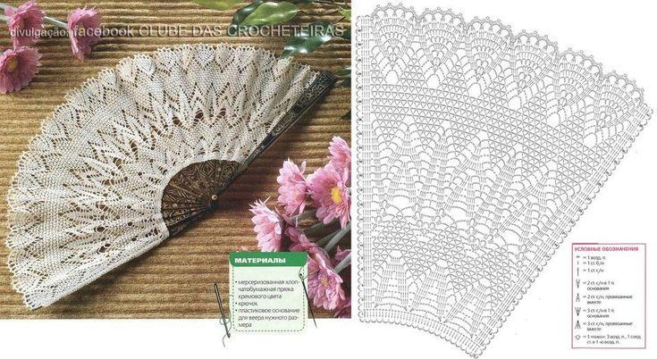 Crocheted Lace Fan