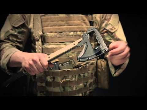 Here is the video...Gerber Downrange Tomahawk.