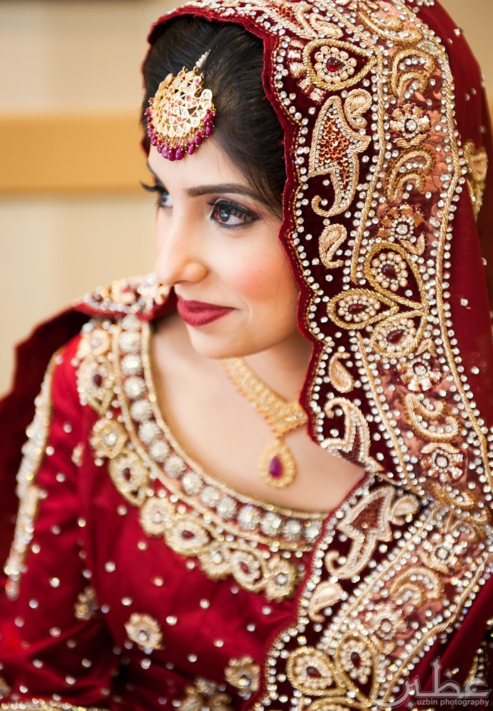 Indian bride, #nikkah #indianwedding