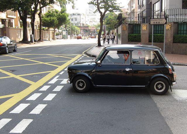 Morris Mini Cooper by asianfiercetiger, via Flickr