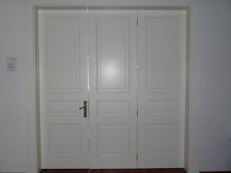fedőfestett klasszikus belréti harmonika (321) ajtó, mart borítással