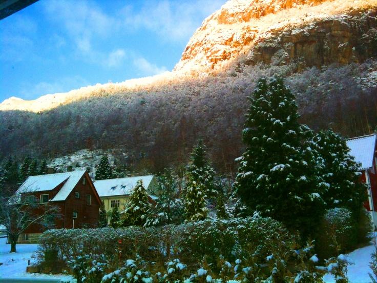 Gjesdal looks gorgeous with winter colors. #winter #snow #gjesdal #regionstavanger #visitnorway #ilovenorway #norway