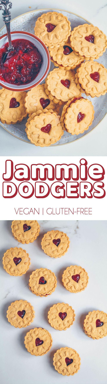 Jammie Dodgers   #vegan #glutenfree #healthier