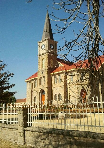 #Reitz, Dutch Reformed Church, Free State, South Africa. Photograph by Martie van Niekerk