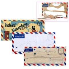 Postcard Aeroplane | Paper Products Online