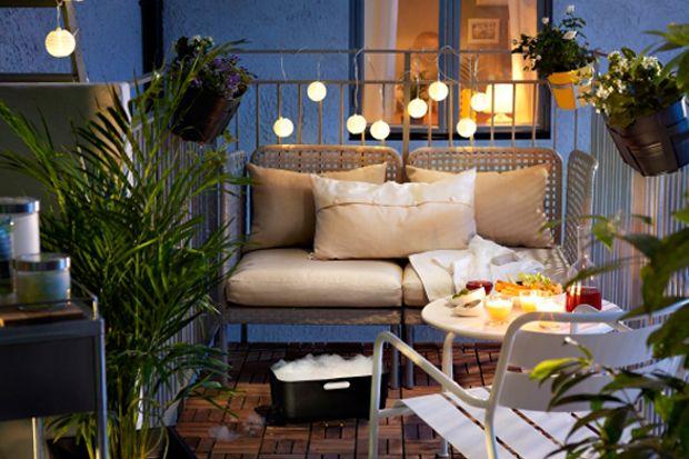 Ideas de decoración: terrazas acogedoras