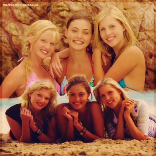 Cariba heine phoebe tonkin and claire holt h20 just for H20 season 4