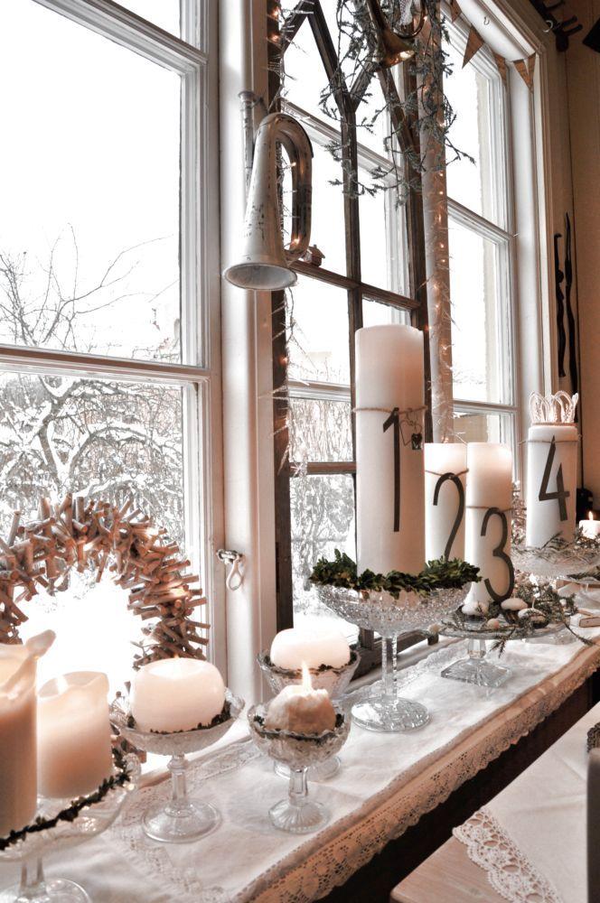 Advent window display