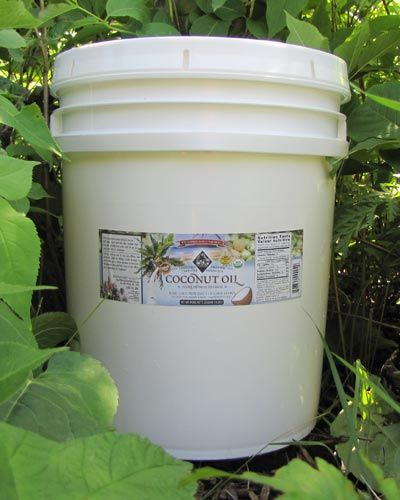 Coconut Oil, Virgin Cold Pressed, Certified Organic, 5 gallons @ Wilderness Family Naturals