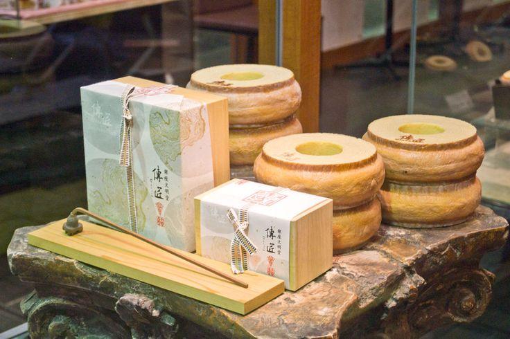 Baumkuchen, Ginza
