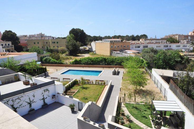 Ciudad Jardín, Palma de Mallorca: Nybyggd taklägenhet med stor terrass i Ciutat Jardin