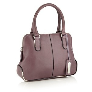 Bailey & Quinn Lilac leather 'Sussex' mini kettle bag - Shopper & tote bags - Handbags & purses - Women - Debenhams Mobile