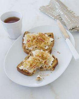 Apple & Ricotta Toast