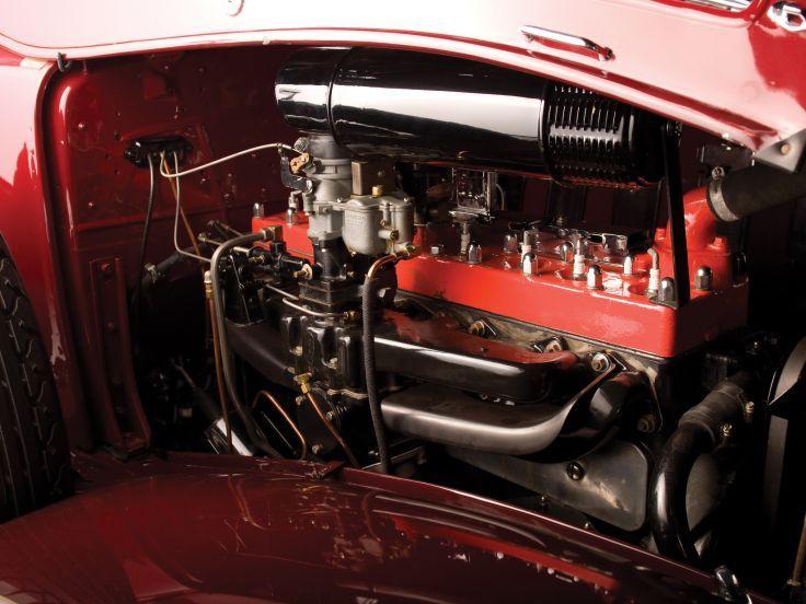 1933 Chrysler Imperial doble Parabrisas motor motores Deporte Phaeton de lujo retro papel tapiz de fondo