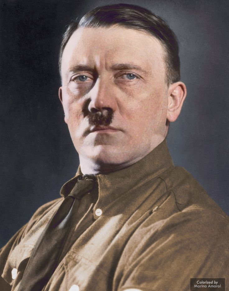 Adolf Hitler was born on April 20, 1889 in Braunau, Austria, a small town across the Inn River from Germany. Soon after Hitler's birth, his father, Alois Hitler, moved the family to Linz, Austria. Hitler attended school in Linz and at first was a good student, but in high school he was a very poor student. Hitler's academic abilities angered his father because his father hoped that Hitler would study to become a government worker as he had been. Hitler, however, wanted to become an artist.