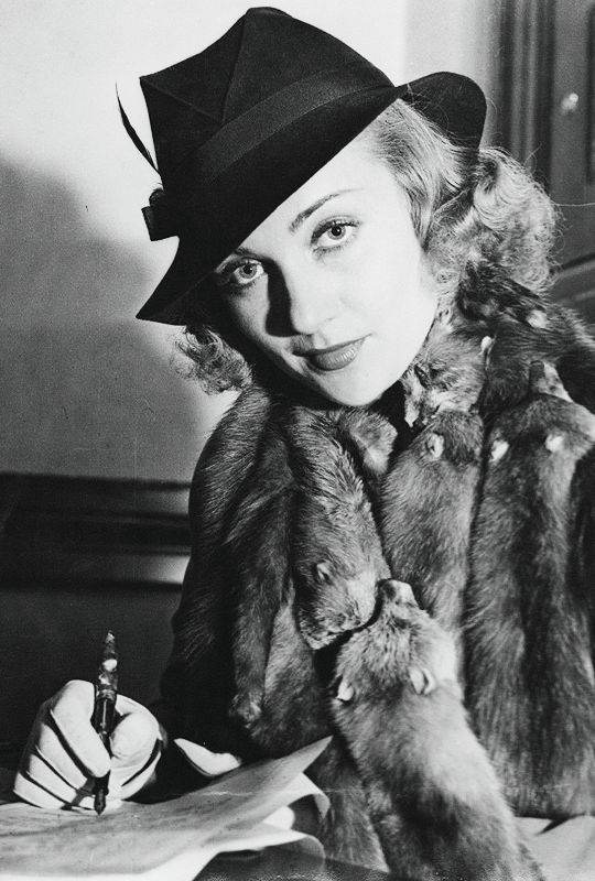 """jodockerys: """" Original caption: Blonde cinemactress Carole Lombard is shown in Superior Court as she was granted a decree legalizing her name to be Carole Lombard, her professional cognomen, rather..."""
