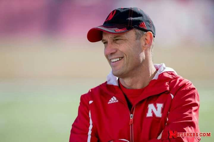 NU coach Mike Riley. 2015.