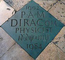 Paul Dirac - Wikipedia