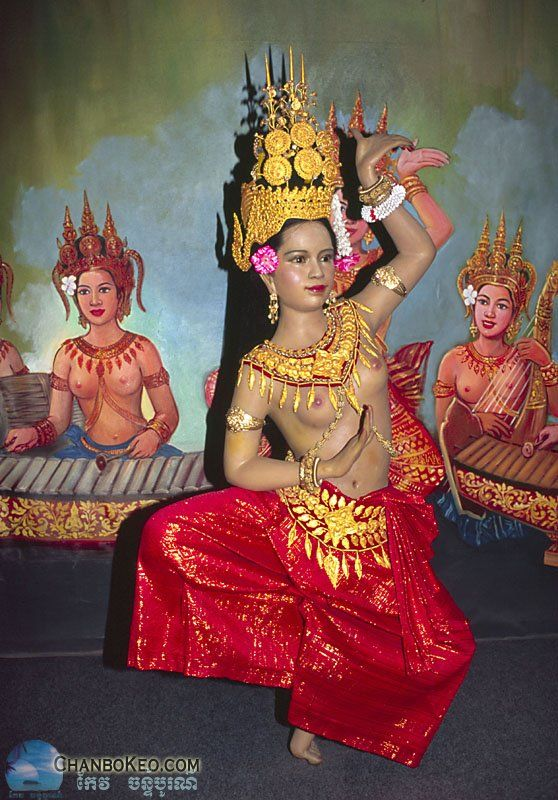APSARA DANCERCAMBODIAON CHANBOKEOCOM  Countries Cambodia  Cambodia