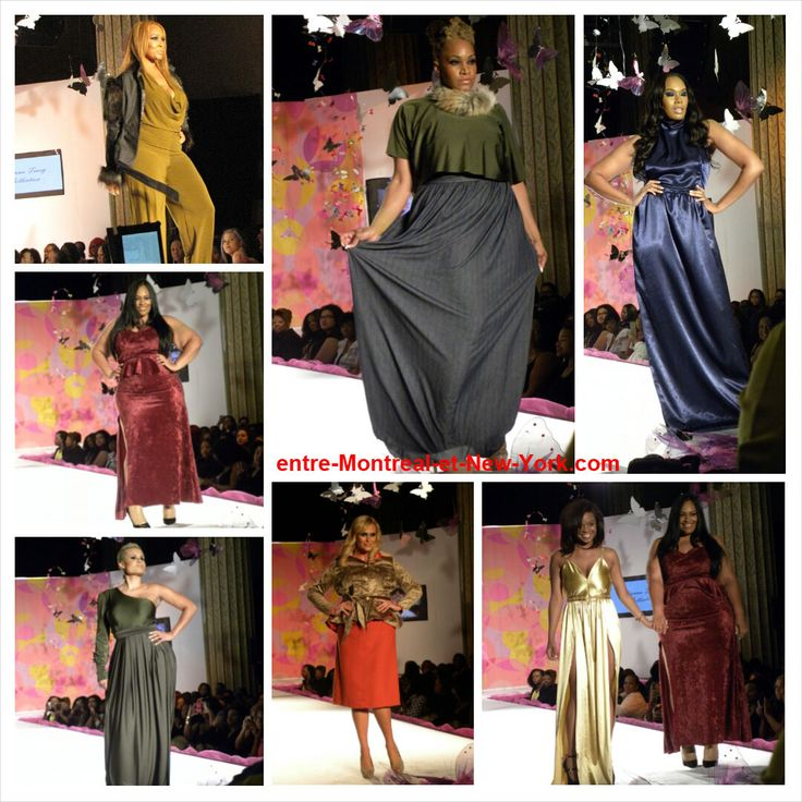Kianna Tracy Collection at the Indie Designer Showcase (Full Figured Fashion Week 2014)