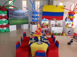 Resultado de imagen para decoracion eventos tematica colombia